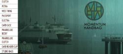 Website reDesign: Momentum Handbag