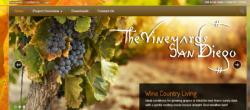 Web Design: TheVineyardsSanDiego.com