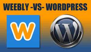 Weebly versus WordPress